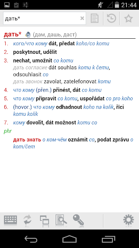 Russian-Czech Dictionary Plus