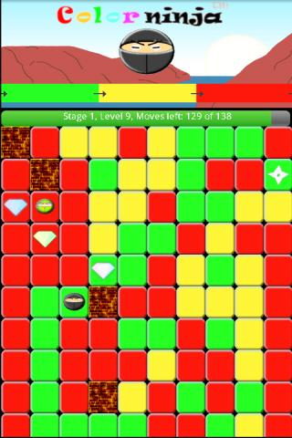Color Ninja Game- screenshot