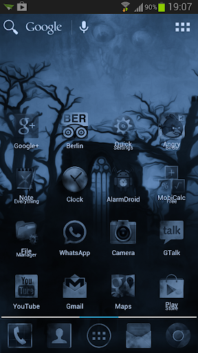 Dark Blue Fog Mystery Theme