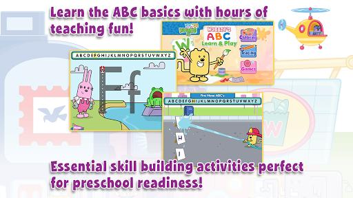 【免費教育App】Wubbzy's ABC Learn & Play-APP點子
