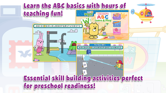 玩免費教育APP|下載Wubbzy's ABC Learn & Play app不用錢|硬是要APP