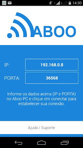 Aboo - Transferência Wi-Fi