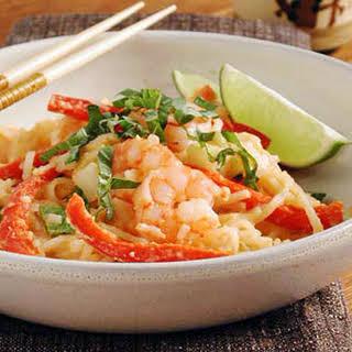 Thai Noodles with Peanut Sauce.