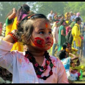 chintito soisob by Sourav Kundu - Babies & Children Child Portraits ( basanta utsav )