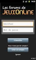 Screenshot of Forums JeuxOnLine