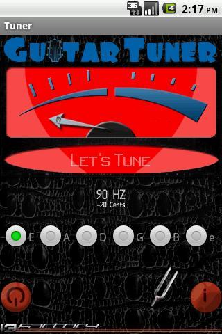 Guitar Tuner i3f- screenshot