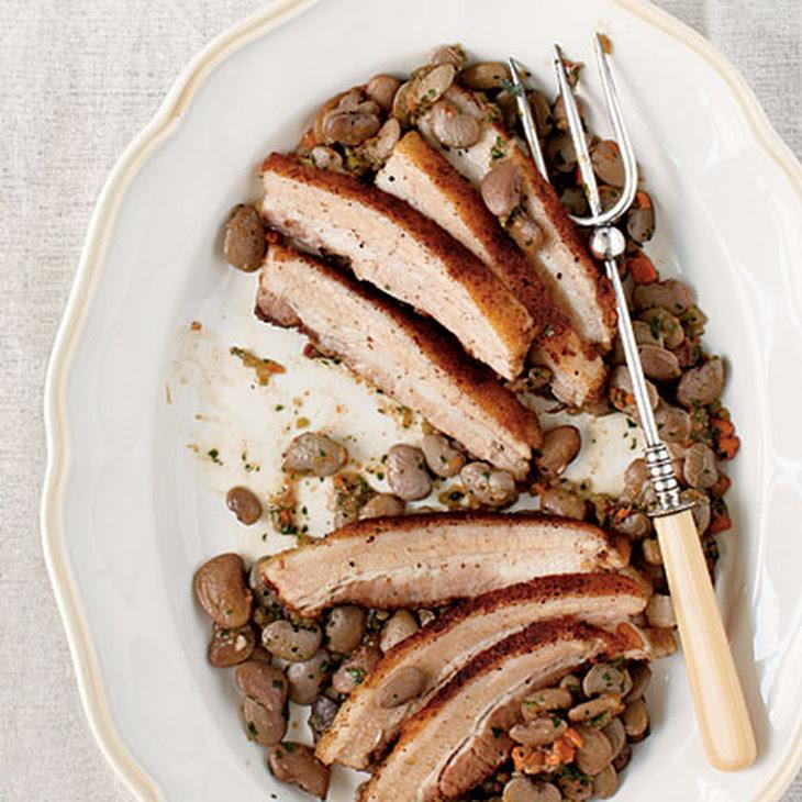 Crispy Roasted Pork Belly Recipe