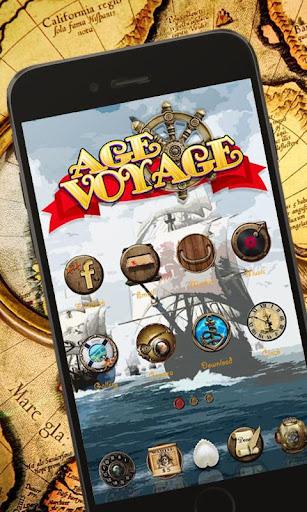 Voyage Age GO Launcher Theme
