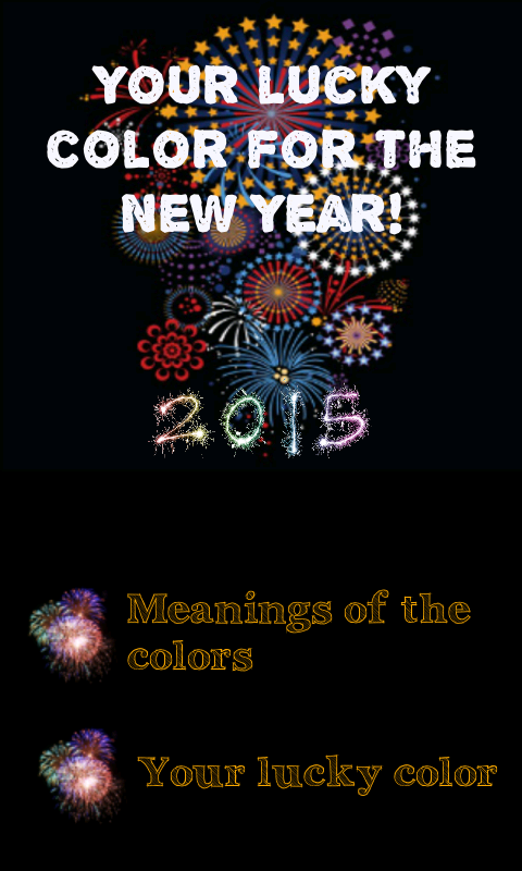 Your color for New Year's 2015 - screenshot
