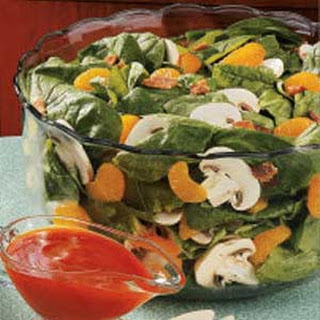 Spinach Salad with Oranges.