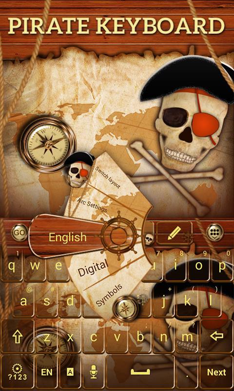 Pirate-GO-Keyboard-Theme 8