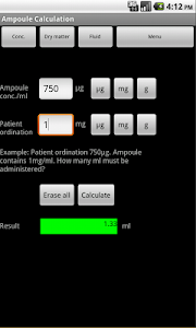 IV-Calculator screenshot 1