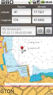 Marine Charts New Zealand HD - screenshot thumbnail