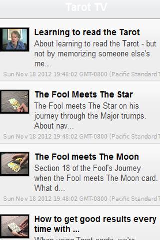 Tarot TV: Fortune Divination