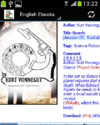 English Ebook Library - screenshot