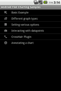 Flot Android Chart - screenshot thumbnail