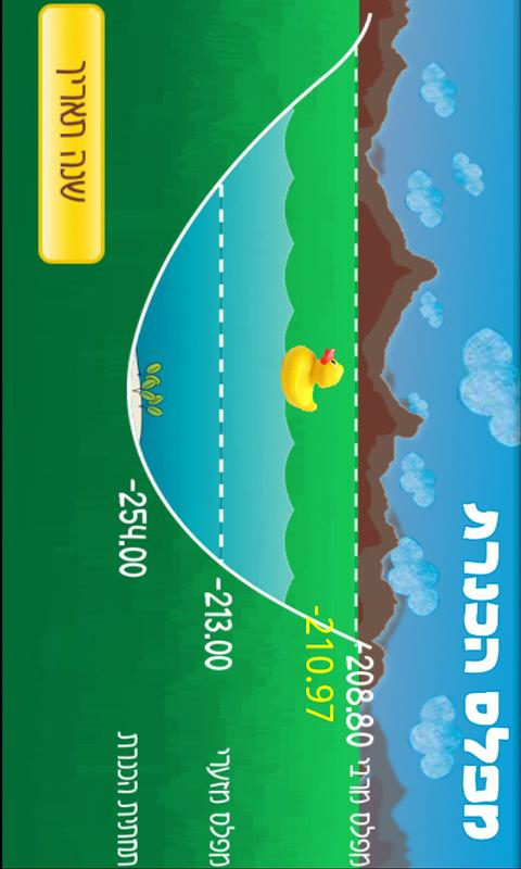 Sea of Galilee Water Level - screenshot