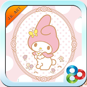 My Melody Go Launcher Theme V1