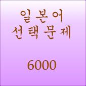 일본어단어선택문제6000