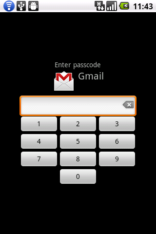 LockDroid protector - screenshot