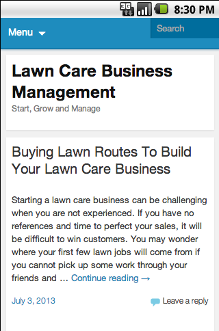 Lawn Care Business Blog