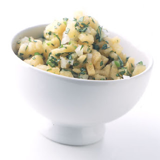 Cantaloupe Basil Salsa
