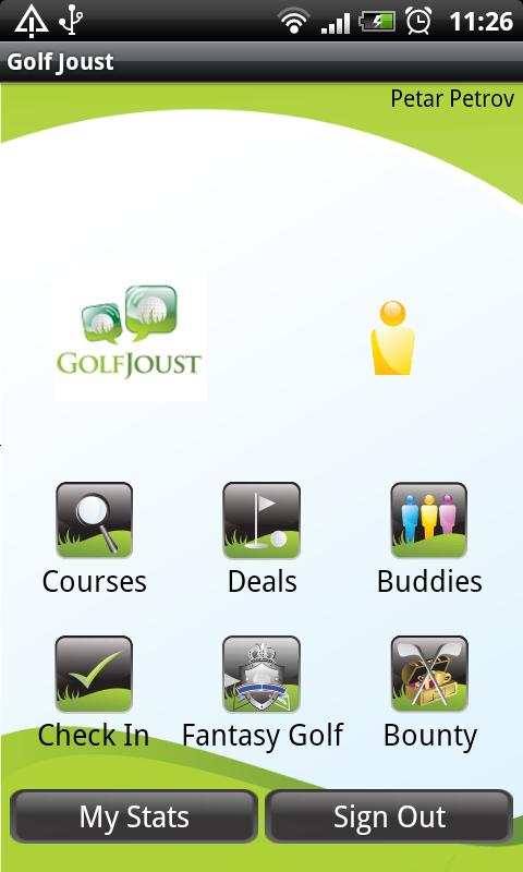 Golf Joust - screenshot
