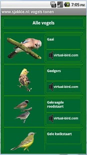 Vogels in Nederland - screenshot thumbnail