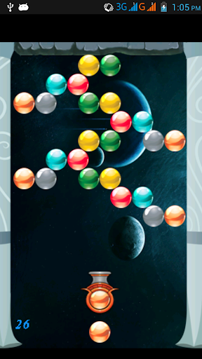 Bubble Shooter Space
