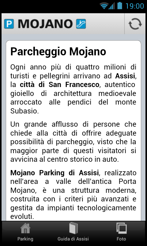 Mojano Assisi Parking- screenshot