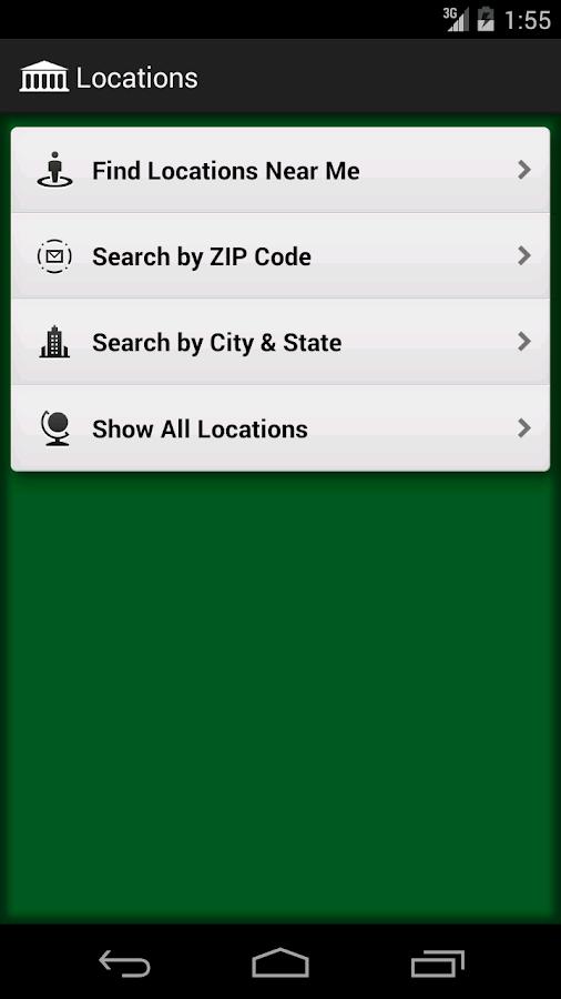 BI Mobile Banking - screenshot