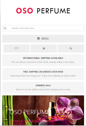OSO Perfume - Buy Fragrances