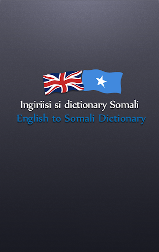 Somali Dictionary Free