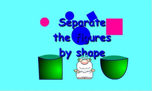 Separate by shape