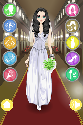 花嫁はドレスアップゲーム
