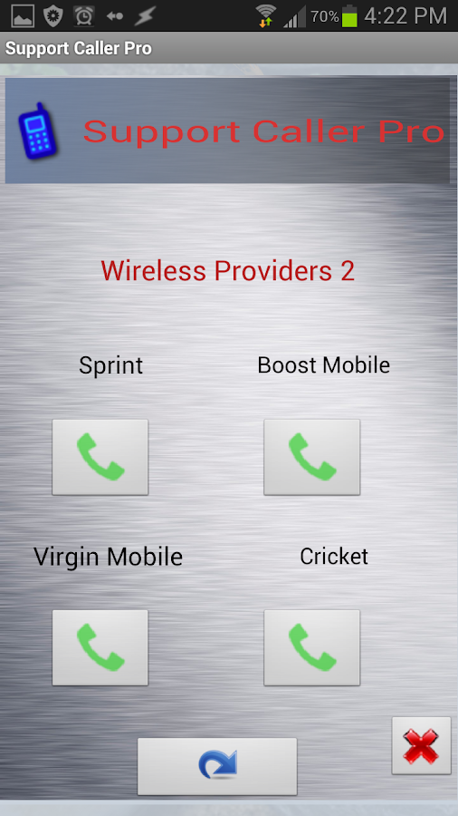 Support Caller Pro - screenshot