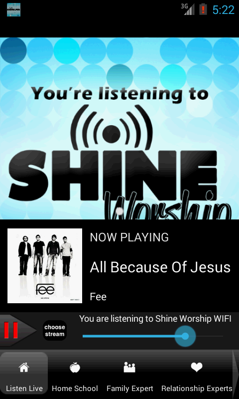 Shine.FM / Positive Hit Music - screenshot