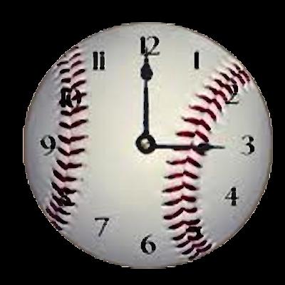 Tampa Bay Rays Clock Wiidget