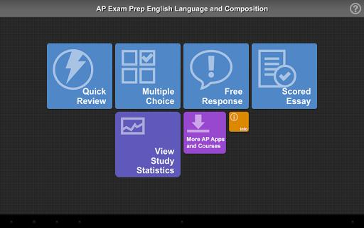 AP Exam Prep English Lit
