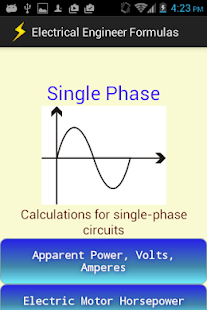 Electrical Engineer Formulas Android Apps On Google Play