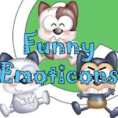 Funny Emoticons-WhatsApp