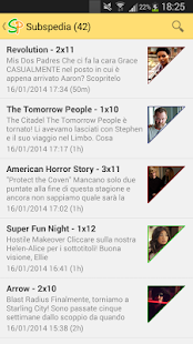 ItalianSubs RSS Notification- miniatura screenshot