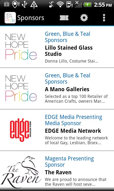 New Hope Pride - screenshot