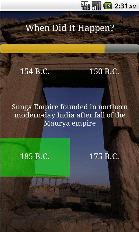 Learn World History (Free)- screenshot
