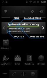 Calendar Widget - Pro Screenshot 2
