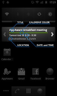 Calendar Widget - Pro - screenshot thumbnail