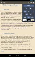 Screenshot of Gitden Reader: EPUB3 & EPUB2