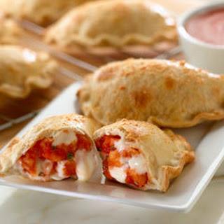 Baked Shrimp Parmesan Empanadas.