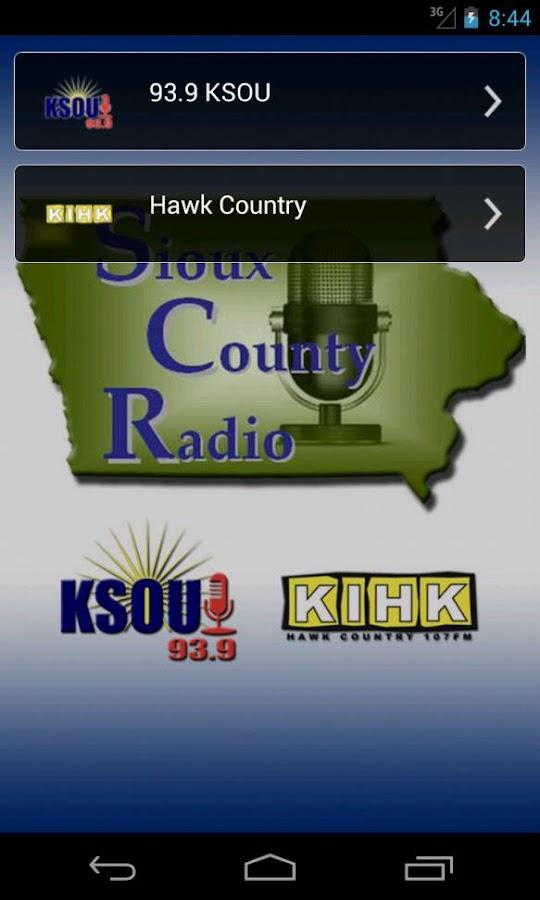 Sioux County Radio - screenshot