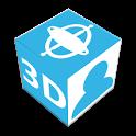 Gyro photo 3D Free icon
